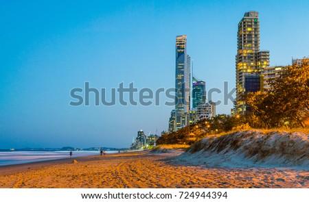 Surfers Paradise, Queensland Australia #724944394