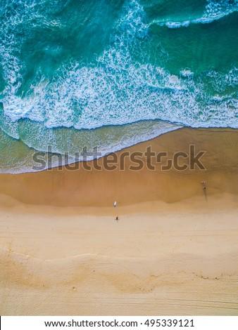 Surfing Aerial #495339121