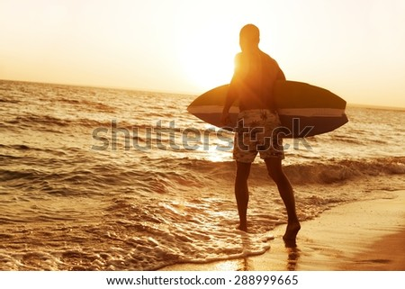 Surfing, Surf, City Of Los Angeles.