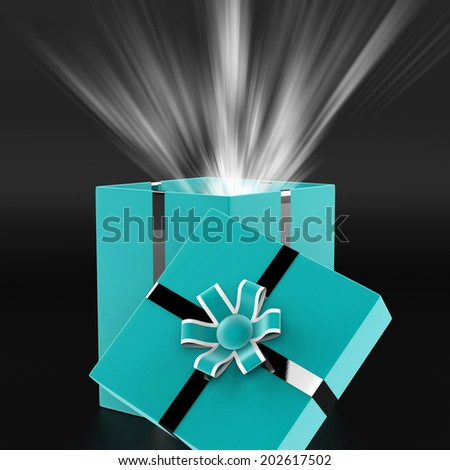 Surprise Surprised Meaning Gift Box And Fun
