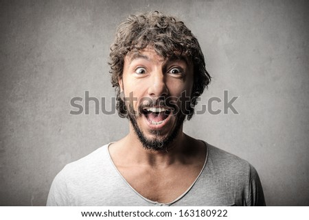 Surprised Handsome Guy