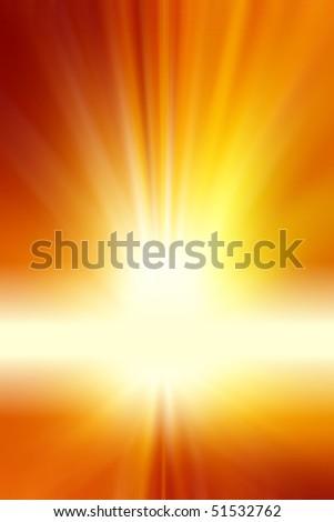 Surreal orange tone background