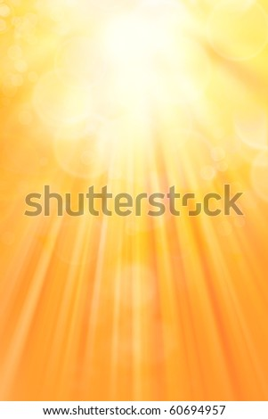 Surreal yellow tone vertical background