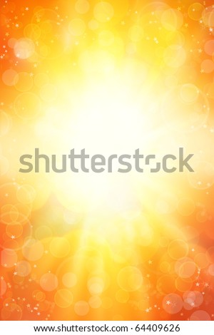 Surreal yellow tone vertical background. Copy space