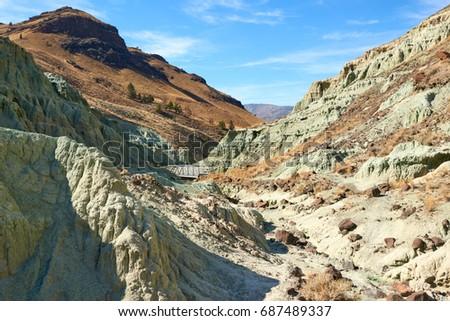 surrealistic landscape in john...