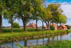 Surroundings the small Belgian town of Beerse, province of Antwerp, Flemish region.