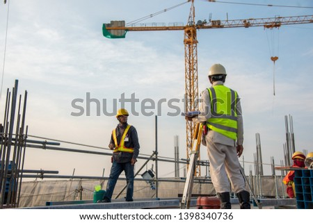 Survey Engineer at construction sitte #1398340736