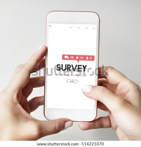 Survey Suggestion Opinion Review Feedback Concept #514221070