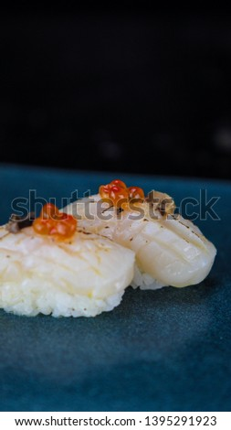 Sushi caviar japanese food picture