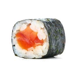 Sushi maki isolated on white background