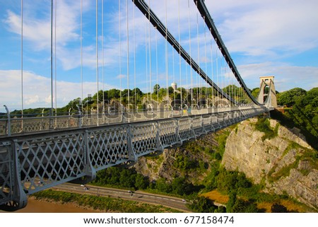 Suspension bridge #677158474