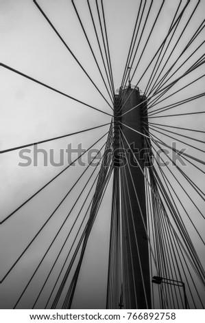 Suspension bridge #766892758