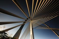 Suspension Bridge at Putrajaya Malaysia