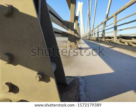 suspension bridge, beautiful bridge on the background #1572179389