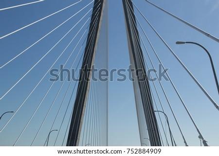 Suspension Bridge Views #752884909