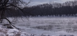 susquehanna River Fog