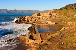 Sutro Baths in San Francisco, California