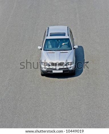 """suv isolated on road  - See similar images of this """"Cars"""" series in my portfolio"""