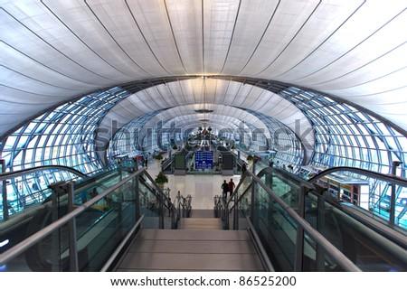 Suvanabhumi airport of Thailand