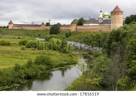 Suzdal. City of the Golden Ring of Russia. Spaso - Evfimevsky monastery.