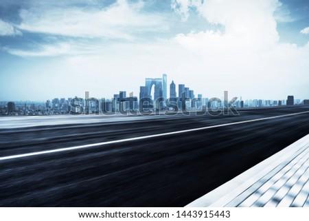 Suzhou, China, Background Material of Urban Modernized City and Urban Expressway Platform