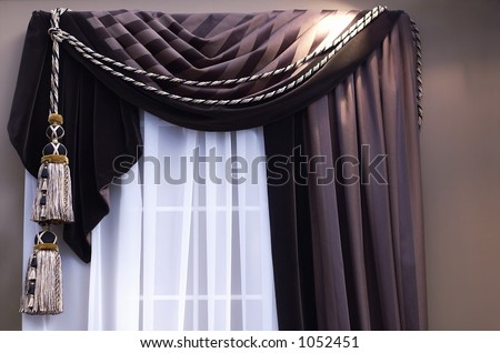 Shopzilla - Blue Swag Curtains Curtains & Drapes shopping - Home