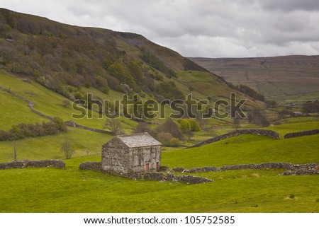 Swaledale in the Yorkshire Dales National Park.