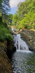 Swallow Falls at Betws-y-Coed, Wales