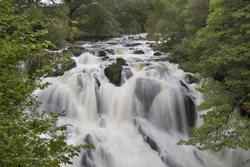 Swallow Falls, Betwys y Coed, Wales