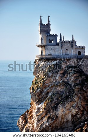 Swallow's Nest Castle near Yalta, Ukraine