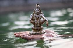 swami ayyappa mini status water background