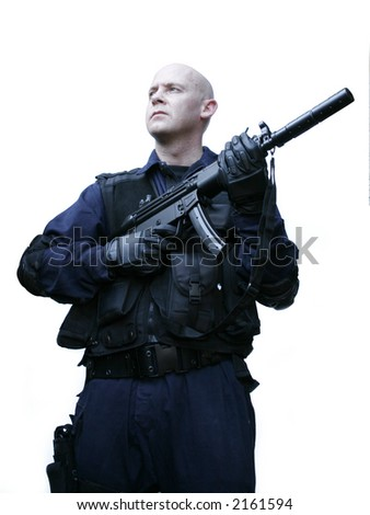 swat tactical officer