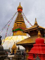 Swayembhunath stupa of kathamandu, Nepal