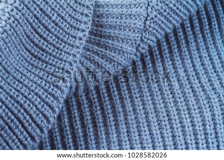 d93ea8895b2e00 Sweater fabric texture. Part of knitted wool.