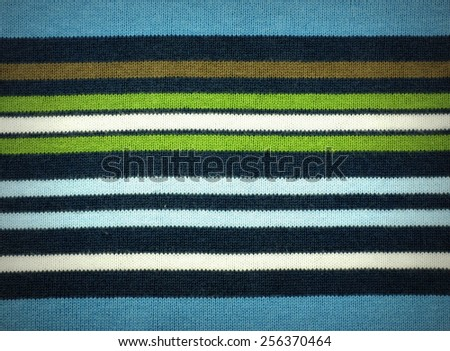 Sweater stripes texture background - central effect #256370464