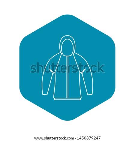 Sweatshirt icon. Outline illustration of sweatshirt icon for web