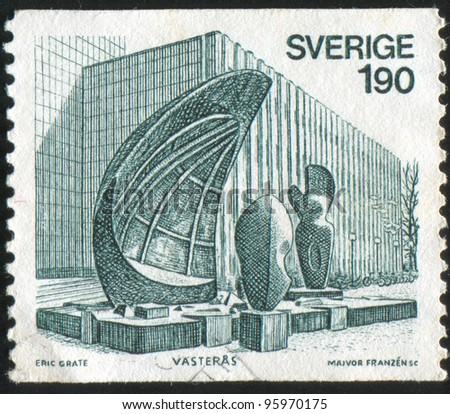 sweden   circa 1976  stamp...