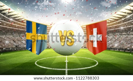 sweden vs switzerland. soccer...
