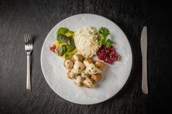 Swedish dish meatball