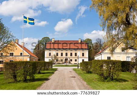 Swedish houses and environment.
