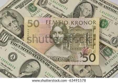 dollars to swedish krona