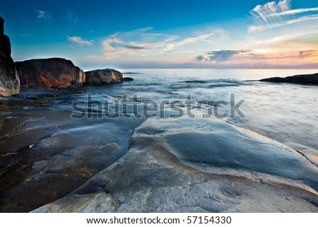 Stock Photo Swedish west coast