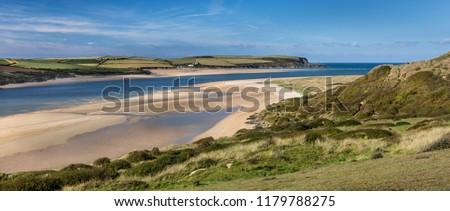 Sweeping Sands, Camel Estuary, Cornwall, UK