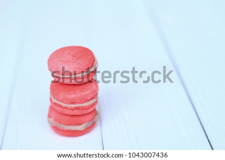 Sweet and colourful french macaroons #1043007436