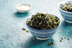 Sweet and Salty Roasted Dried Seaweed, Healthy Snack or Korean Side Dish