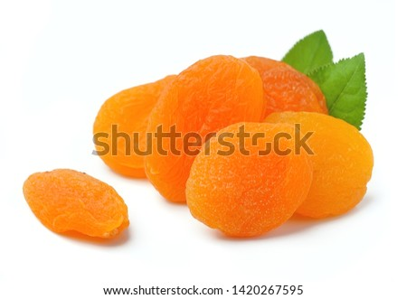 Sweet apricots and dried apricots #1420267595