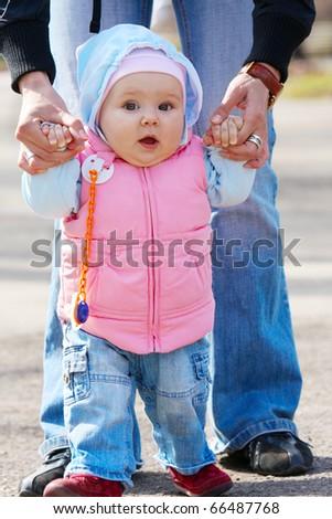 Sweet baby girl - stock photo