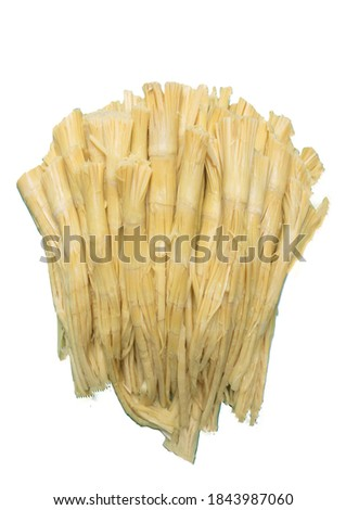 Sweet bamboo shoots It is a term for the young shoots of edible bamboo that split from underground rhizomes. It comes from the species Bambusa vulgaris and Phyllostachys edulis. It is eaten in Asia.  Zdjęcia stock ©