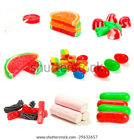 sweet candies collection