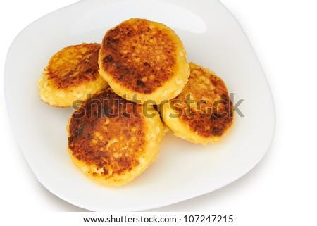sweet cheese pancakes